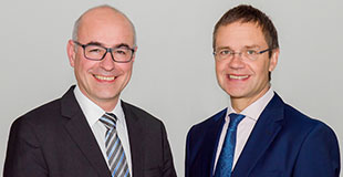 Executive Directors Professor Achim Wambach and Thomas Kohl